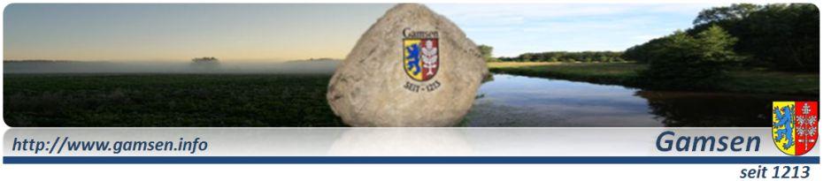 Gamsen.Info - Stadt Gifhorn Ortsteil Gamsen
