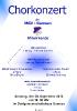 MGV Chorkonzert 2014 Ankündigung